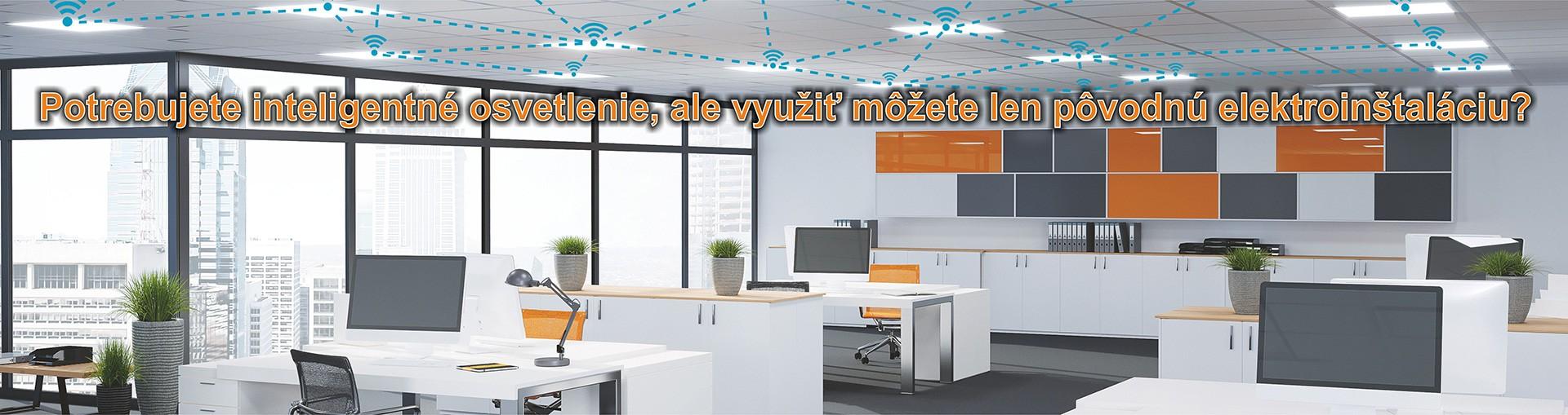 HubSense - bezdrôtové riadenie osvetlenia